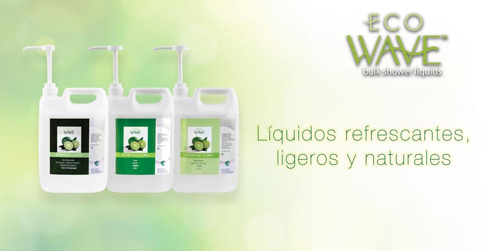 EcoWave: Líquidos refrescantes, ligeros y naturales